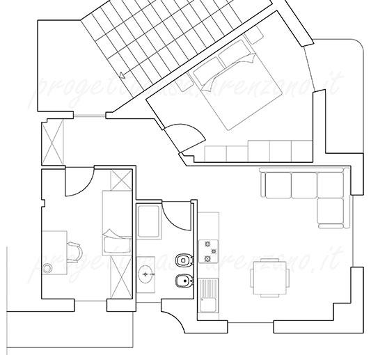 Progetto appartamento Arenzano